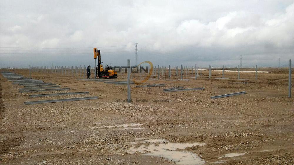 Nigde gunes enerji sistemi 4MW